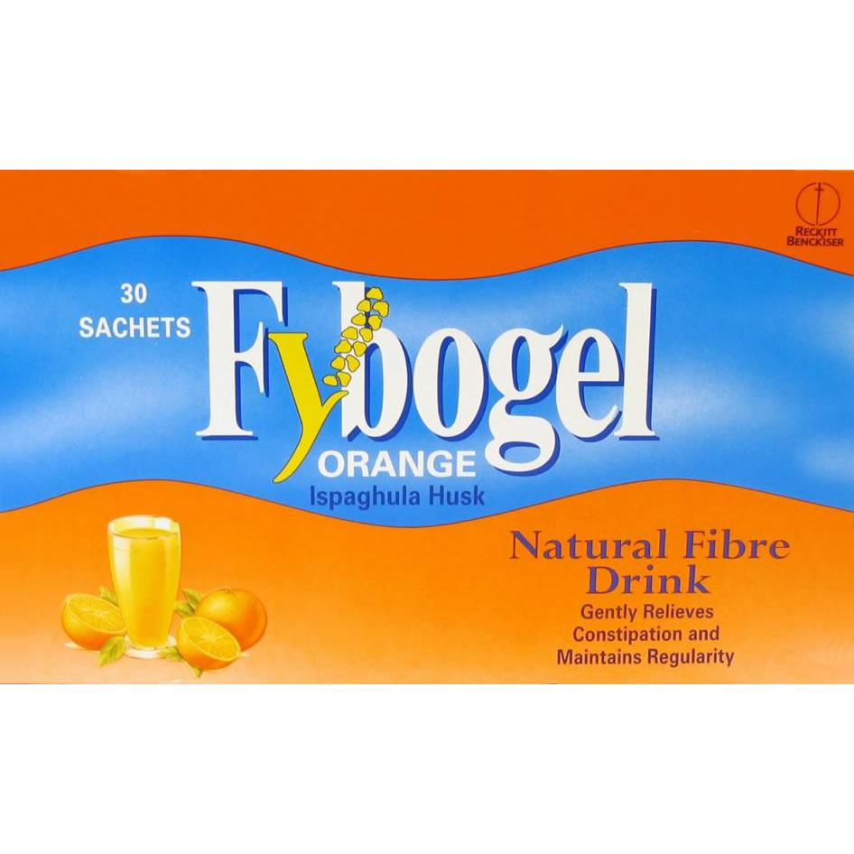 Fybogel Orange Flavoured Laxative Sachets Pack of 30 x 4