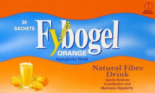 Fybogel Orange Flavoured Laxative Sachets Pack of 30