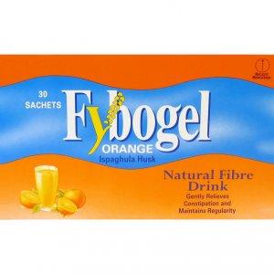 Fybogel Orange Flavoured Laxative Sachets Pack of 30 x 2