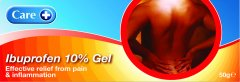 Care Ibuprofen Gel 10% 50g