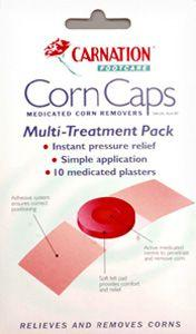 Carnation Corn Caps Pack of 10