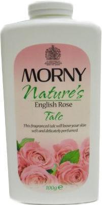 Morny Nature's English Rose Talc 100g