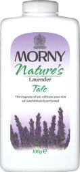 Morny Nature's Lavender Talc 100g