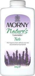 Morny Nature's Lavender Talc 100g