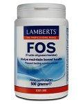 Lamberts Fructo-oligosaccharides (FOS) Powder 500g