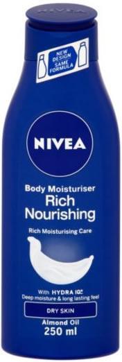 Nivea Rich Nourishing Body Moisturiser 250ml