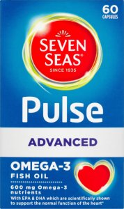 Seven Seas Pulse Advanced Omega 3 Capsules Pack of 60