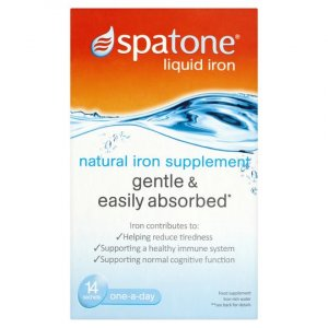 Spatone 100% Natural Iron Supplement 14-day pack