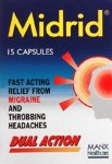 Midrid Capsules Pack of 15