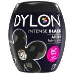 Dylon Washing Machine Dye Pod Intense Black 350g