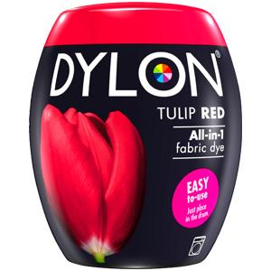 Dylon Washing Machine Dye Pod Tulip Red 350g