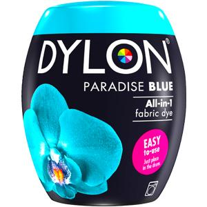 Dylon Washing Machine Dye Pod Paradise Blue 350g