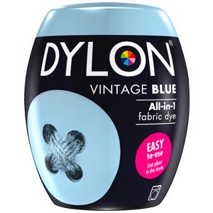 Dylon Washing Machine Dye Pod Vintage Blue 350g