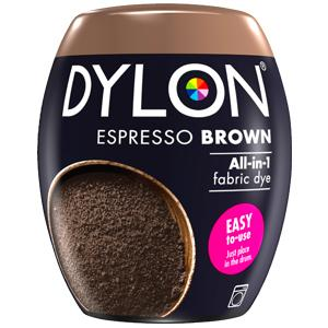 Dylon Washing Machine Dye Pod Espresso Brown 350g
