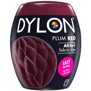 Dylon Washing Machine Dye Pod Plum Red 350g
