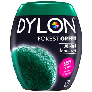 Dylon Washing Machine Dye Pod Forest Green 350g