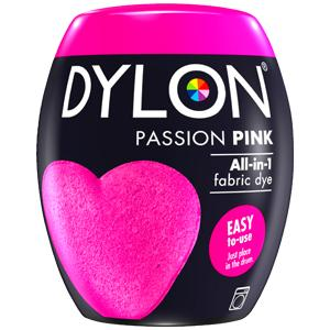 Dylon Washing Machine Dye Pod Passion Pink 350g