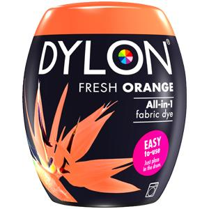 Dylon Washing Machine Dye Pod Fresh Orange 350g