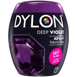 Dylon Washing Machine Dye Pod Deep Violet 350g