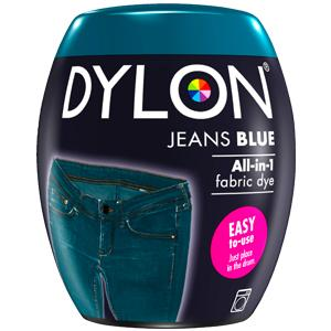 Dylon Washing Machine Dye Pod Jeans Blue 350g