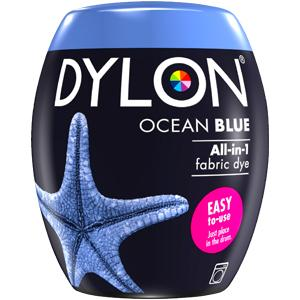 Dylon Washing Machine Dye Pod Ocean Blue 350g