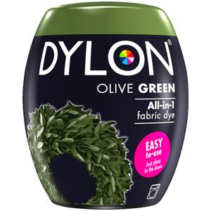 Dylon Washing Machine Dye Pod Olive Green 350g