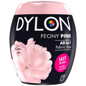 Dylon Washing Machine Dye Pod Peony Pink 350g