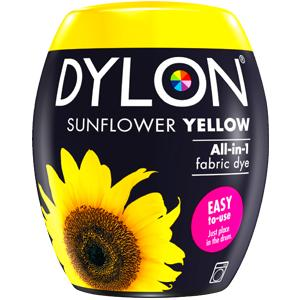 Dylon Washing Machine Dye Pod Sunflower Yellow 350g