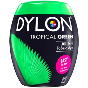 Dylon Washing Machine Dye Pod Tropical Green 350g