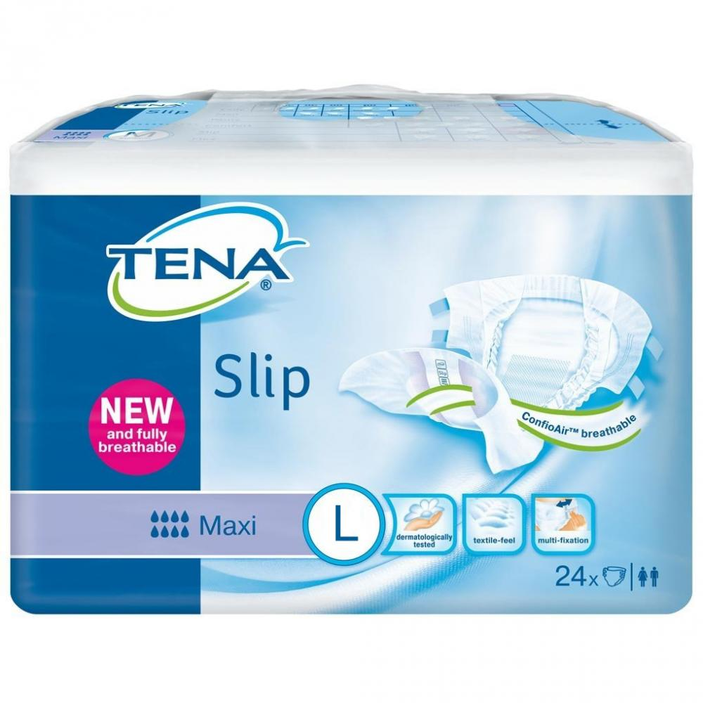 TENA Slip Maxi Large Pack of 24