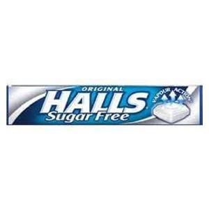 Halls Sugar Free Lozenges Original
