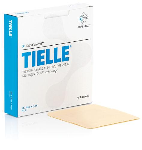 Tielle Polyurethane Foam Film Dressing 11cm x 11cm Pack of 10
