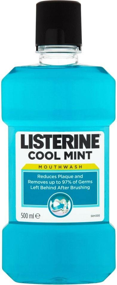 Listerine Cool Mint Mouthwash 500ml
