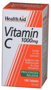 HealthAid Vitamin C 1000mg Tablets Pack of 100