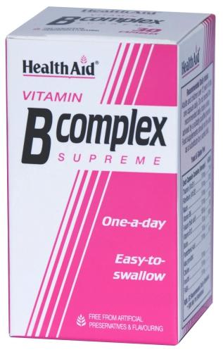 HealthAid Vitamin B Complex Supreme Capsules Pack of 90