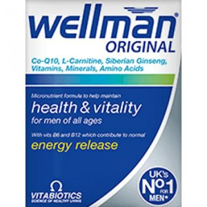 Wellman Original Tablets Pack of 30