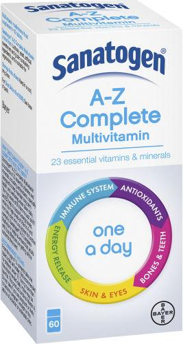 Sanatogen A-Z Complete One-a-day Pack of 60