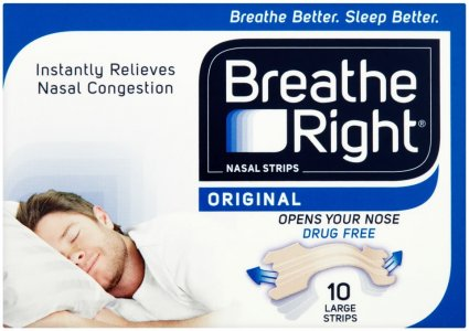 Breathe Right Nasal Strips Large Original Pack of 10