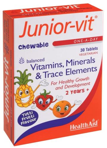 HealthAid Junior-Vit Tablets Pack of 30