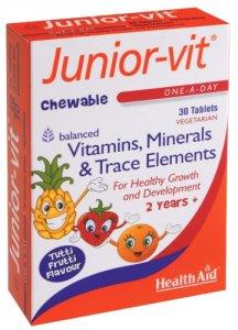 HealthAid Junior-Vit Tablets Pack of 30