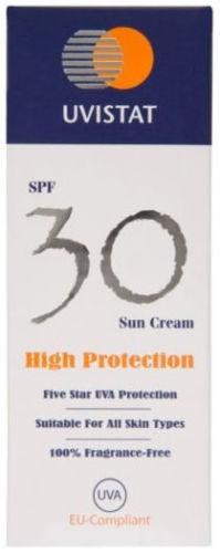 Uvistat Sun Cream SPF30 125ml