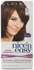 Clairol Nice n Easy Non Ammonia 24 Wash Light Ash Brown 75