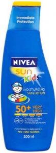 Nivea Childrens Lotion SPF50+ 200ml