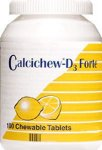 Calcichew D3 Forte Chewable Tablets Pack of 100