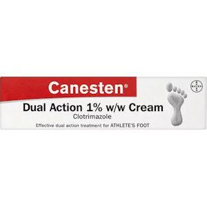 Canesten Dual Action Athletes Foot Cream 15g