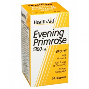 HealthAid Evening Primrose Oil 1300mg Capsules Pack of 30