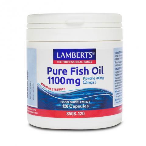 Lamberts Fish Oils 1,100mg Capsules Pack of 120