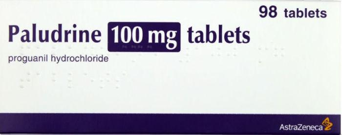 Paludrine 100mg Tablets Pack of 98