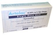 Artelac Sdu Eye Drops Single Dose Unit 0.5ml Pack of 60