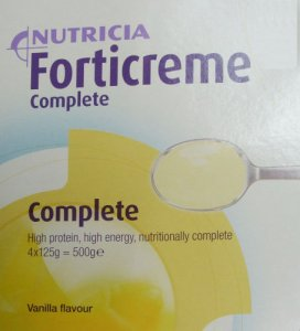 Forticreme Complete Vanilla 125g Pack of 4